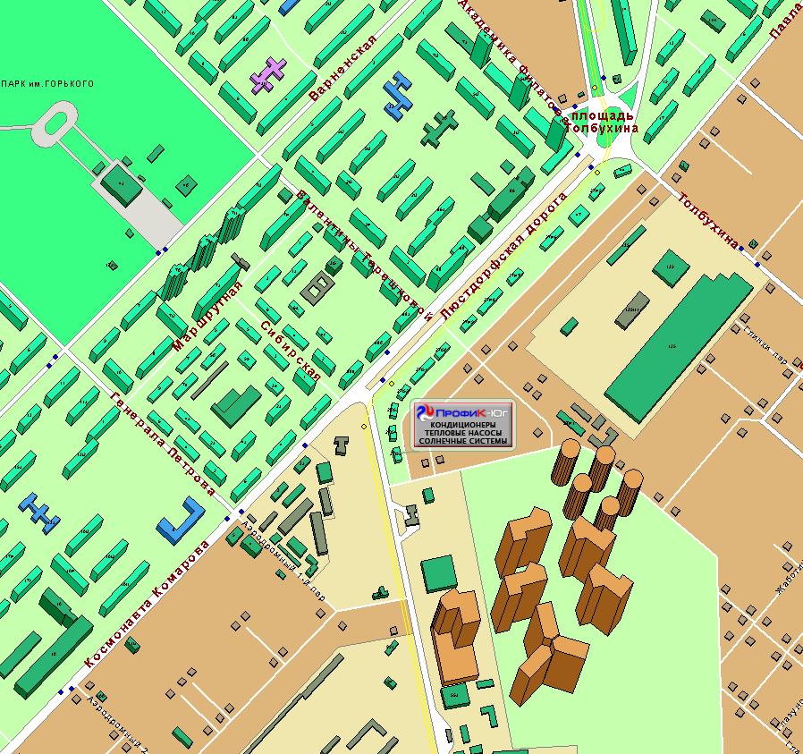 Карта проезда поможет вам войти в контакт с нами