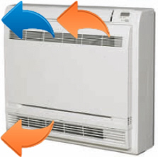 Конвектор теплового насоса