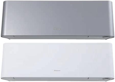 DAIKIN EMURA - дизайн HI-TECH с элегантной отделкой из алюминия или с матовым кристально-белым корпусом.