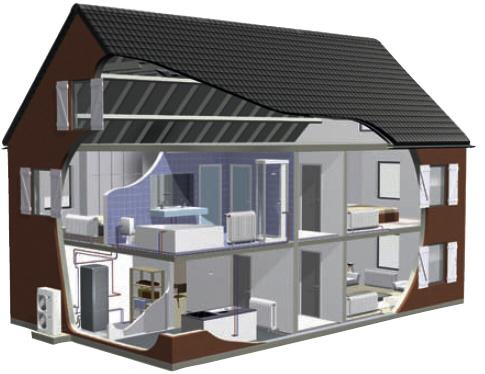 высокотемпературная система отопления типа тепловой насос