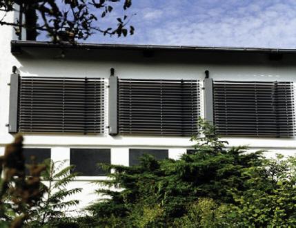 концепция солнечного дома, вертикальная установка солнечного коллектора