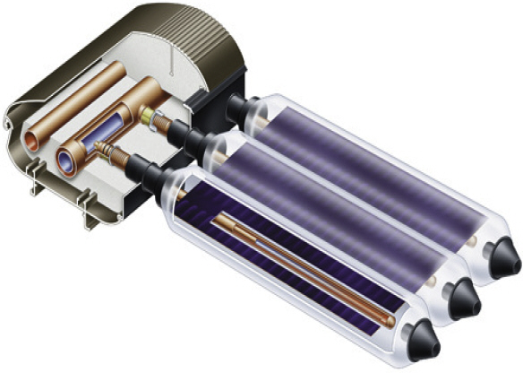 Vitosol 200-T  - солнечная система для горячей воды