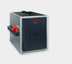 Водогрейный котел на жидком топливе и на газе - vitoplex 100