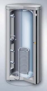 Vitocell-140-E буферный накопитель для нескольких отопителей
