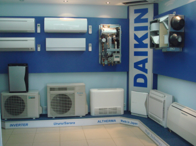 стенд показывающий работу теплового насоса и системы вентиляции с рекуперацией тепла
