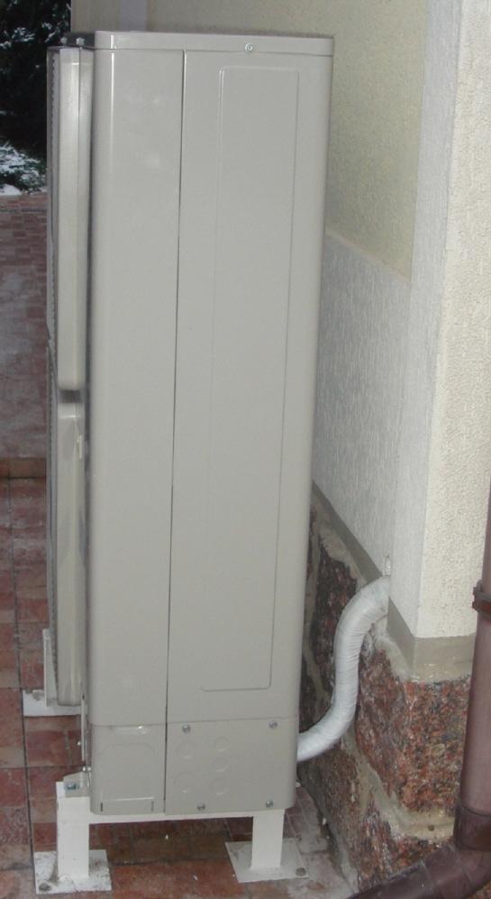 отступ от стены расстояние при установке наружного блока кондиционера в Одессе