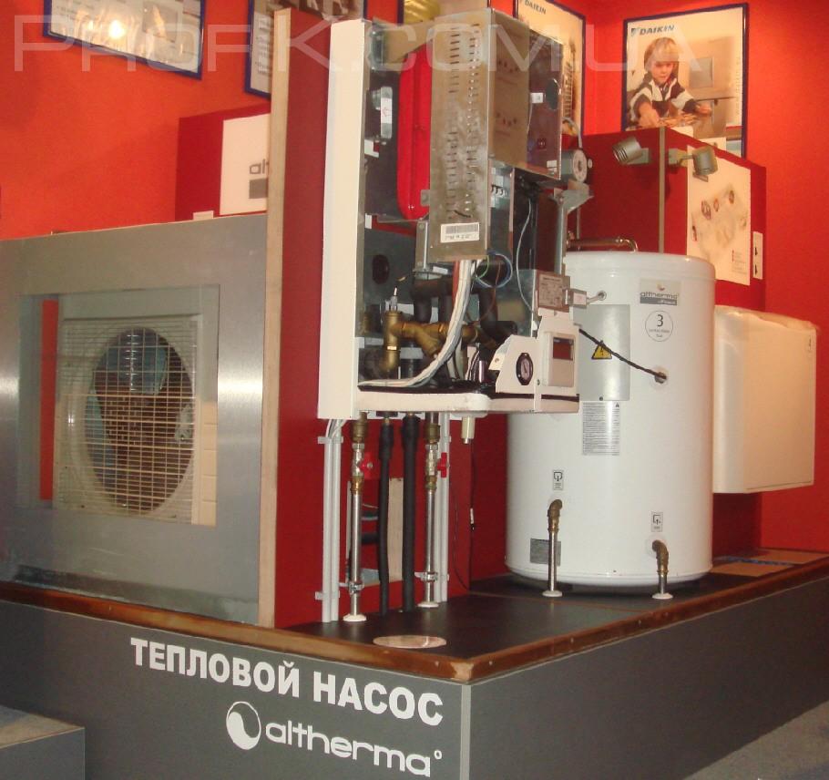 обзор и тест теплового насоса Одесса