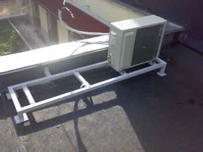 Установка кондиционера на крыше оквэд на продажу кондиционеров