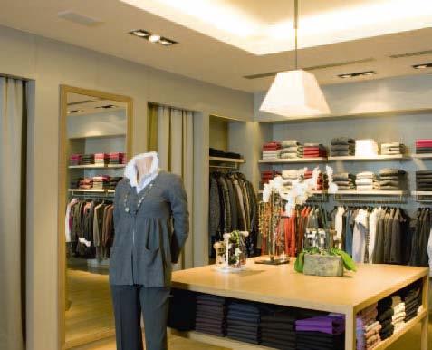канальный кондиционер в бутик, магазин одежды