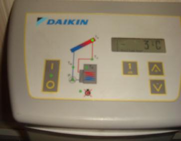 Установка температуры солнечного модуля зимой