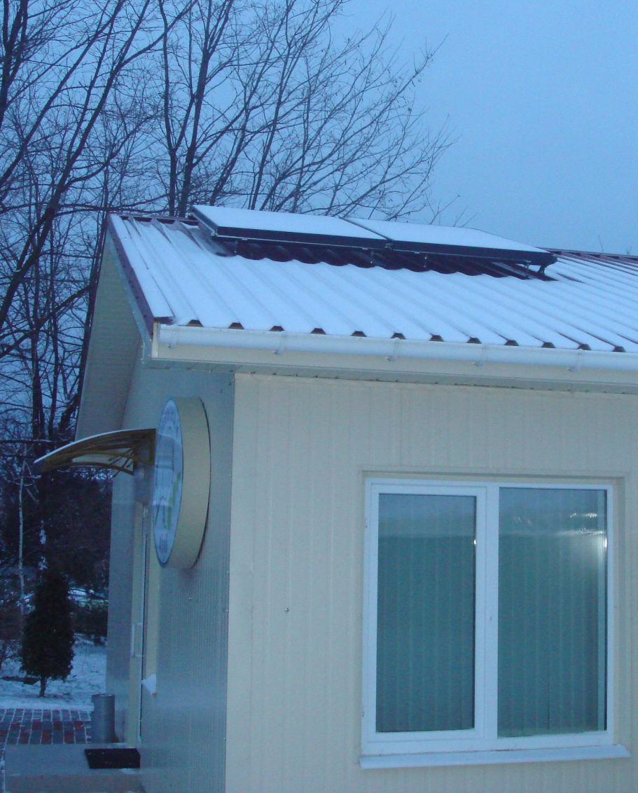 Установка солнечных коллекторов в Одессе