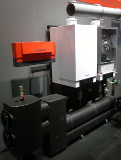 Модульные каскадные котельные на газовых котлах VITODENS 200-W