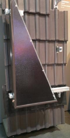как монтировать солнечные панели на крыше фото
