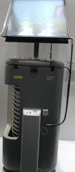 бивалентный бойлер косвенного нагрева водонагреватель rotex с подключением солнечного коллектора