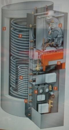 Vitosolar 300 F - автономная схема горячего водоснабжения