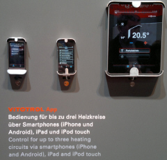 Vitotrol App управление системой отопления через iPhone, iPad touch, Android