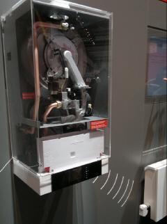 газовый котёл с беспроводной гидравлической балансировкой системы отопления