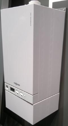 Vitodens 100 с пластинчатым теплообменником
