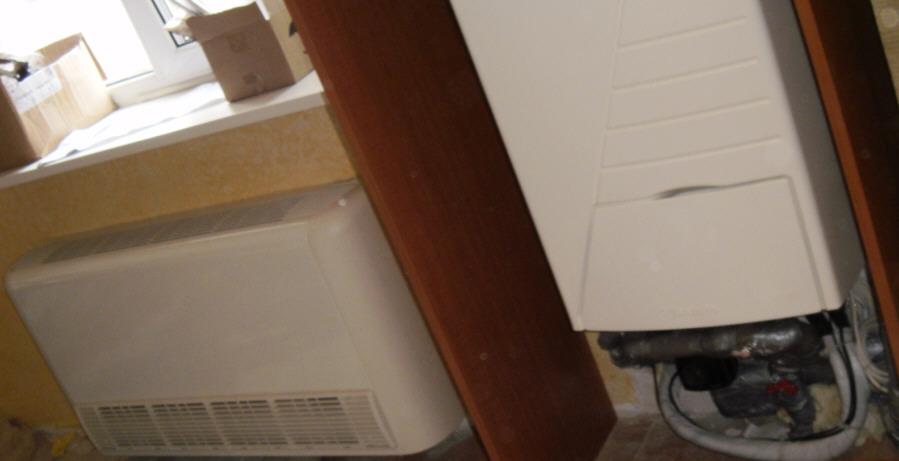 фото кондиционер воздух вода установить в квартиру в Одессе