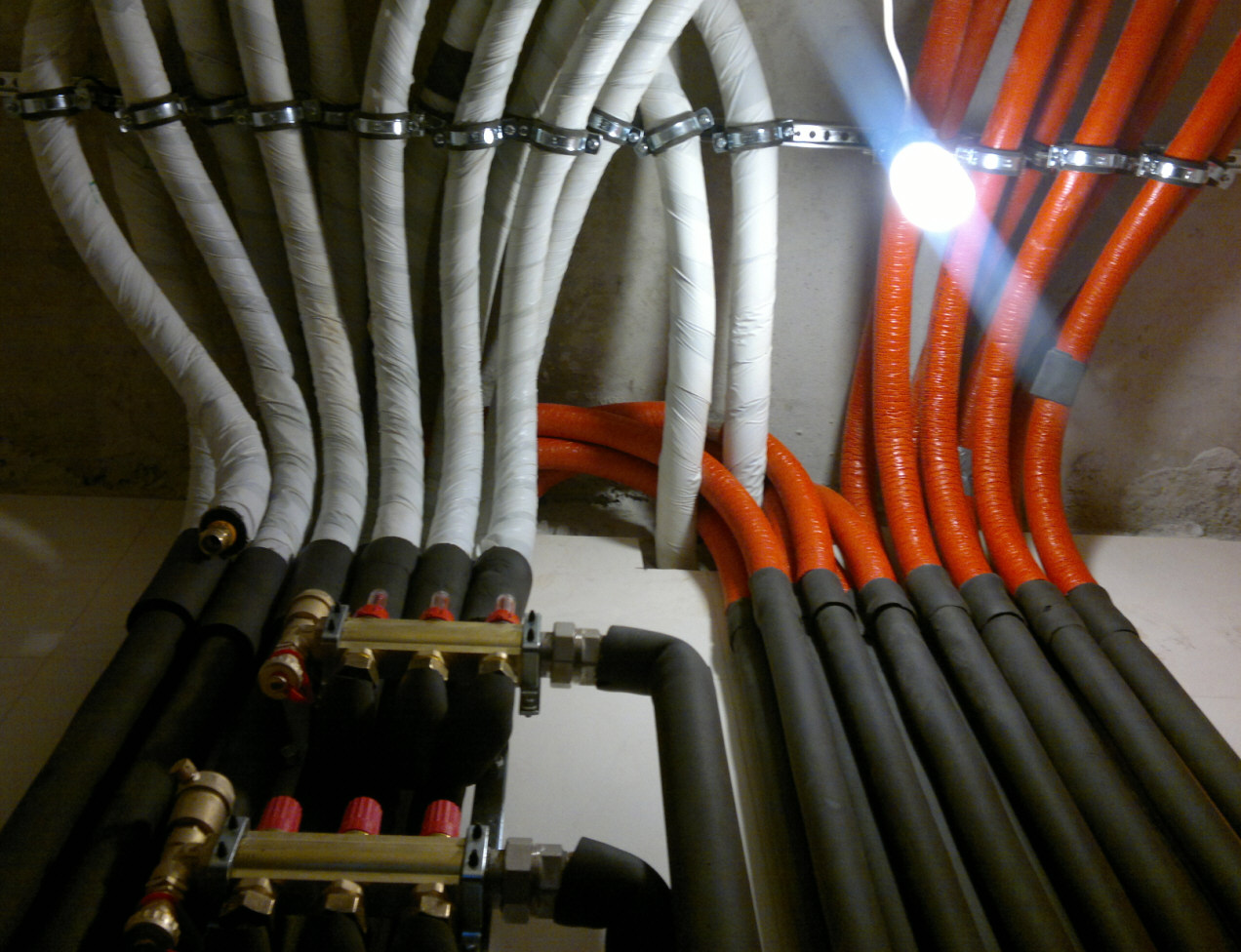 теплоизоляция трубы отопления фото котельная одесса