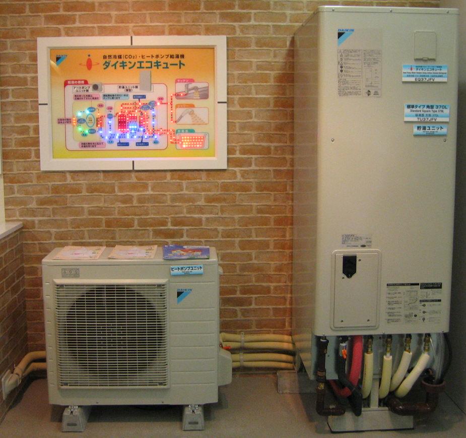 тепловой насос для горячей воды на CO2 в Одессе