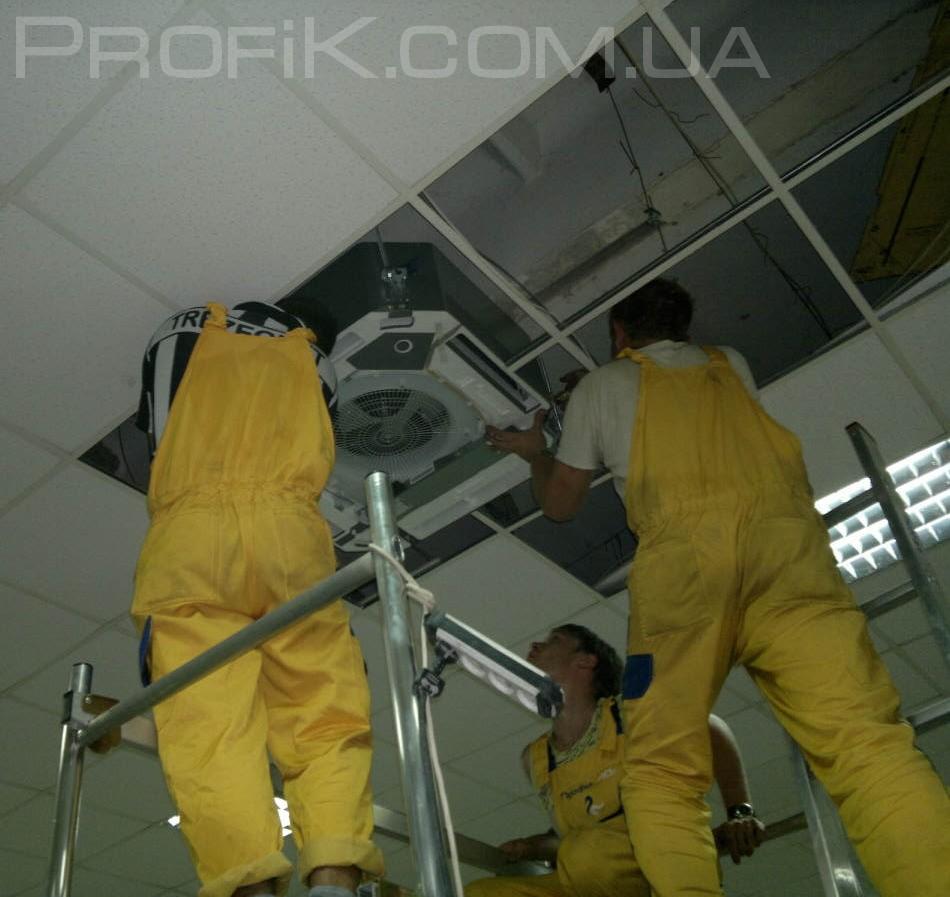 Установка кондиционеров в Одессе под ключ