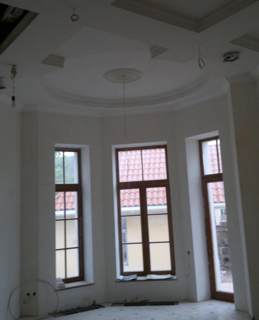 проект круглого дома  кондиционирование вентиляция отопление Одесса