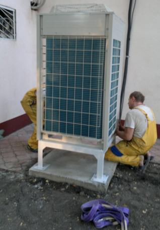 профессиональная установка кондиционеров в Одессе под ключ