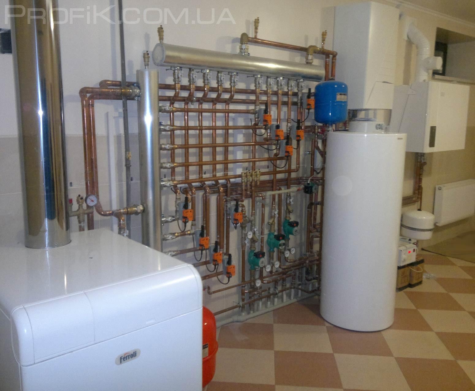 модернизация котельных топочных систем отопления в одессе