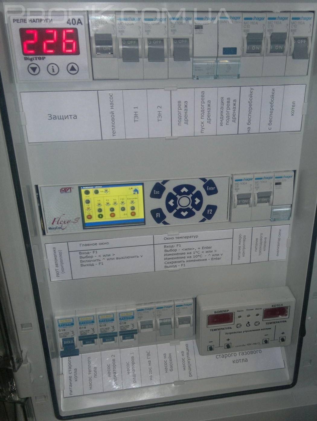 система погодного регулирования отопления котла в Одессе