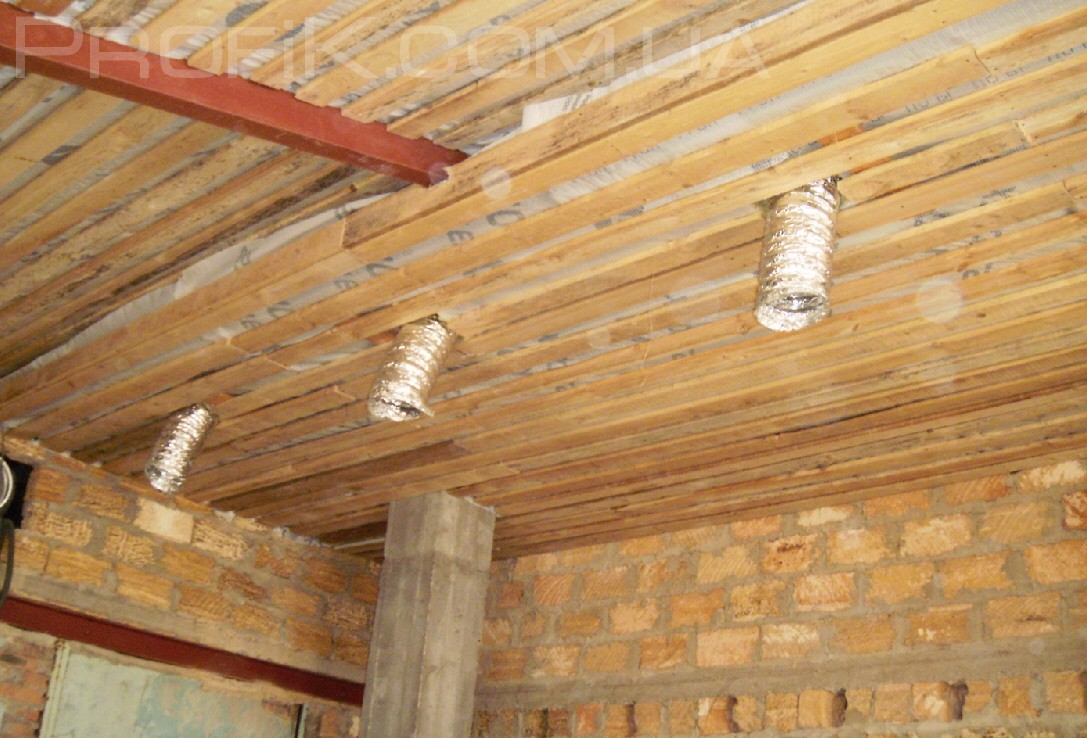 монтаж вентиляции в гараж в одессе