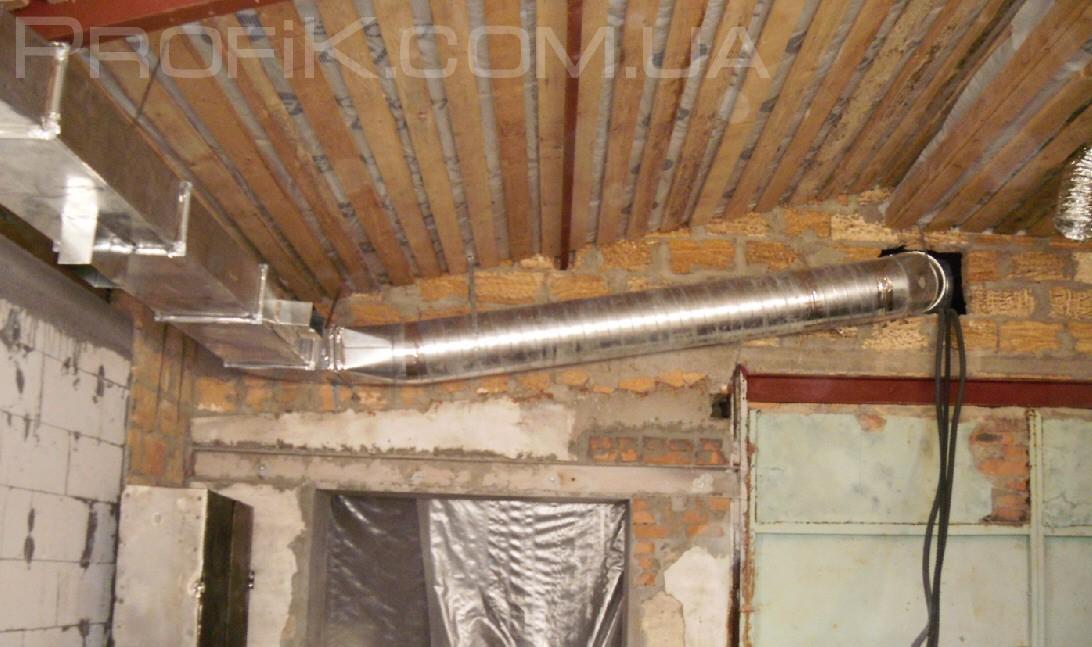 Вентиляция в гараже в Одессе монтаж и установка