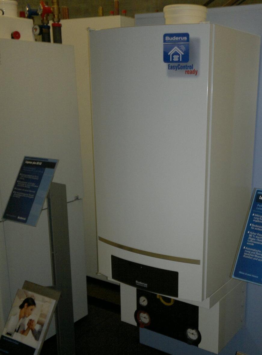 купить настенный конденсационный газовый котёл Buderus Logamax Plus GB162 одесса