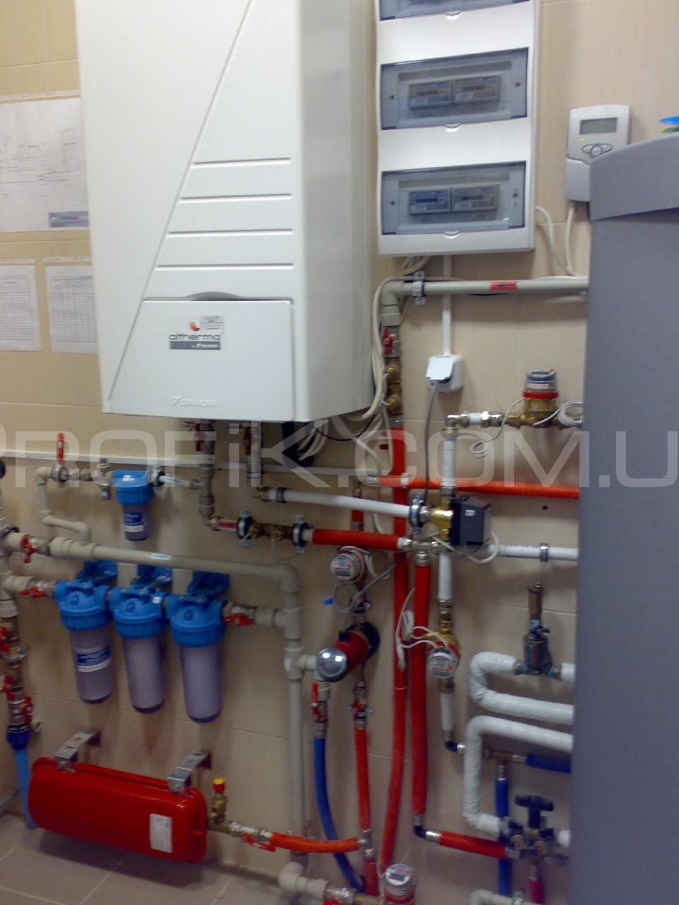 Установка тепловых насосов в Одессе